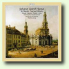 CD-Cover Johann Adolph Hasse  Te-Deum D-Dur/ Sacred Works